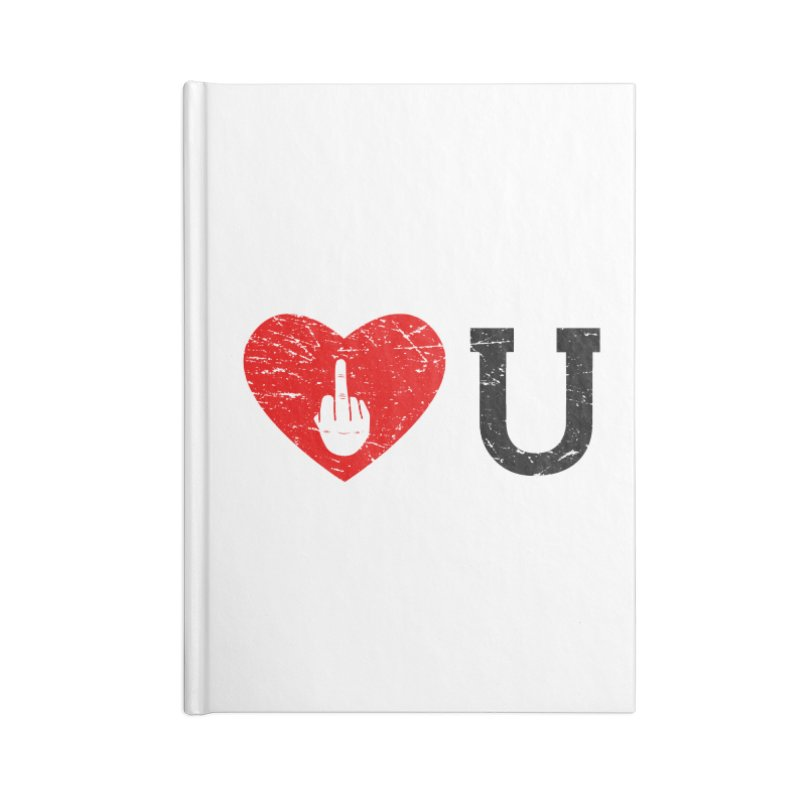 Love You Accessories Blank Journal Notebook by GED WORKS