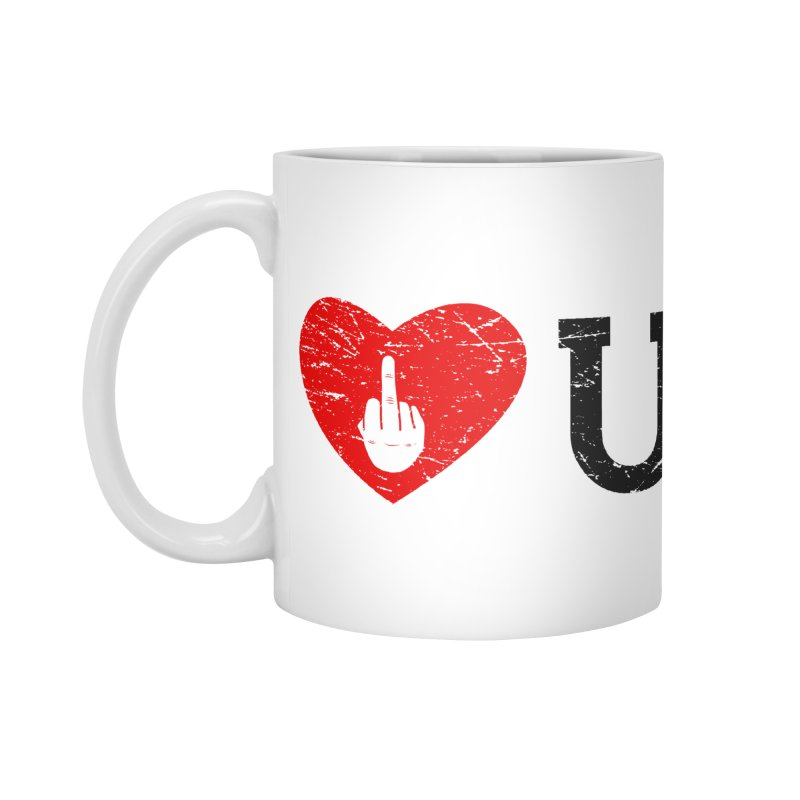 Love You Accessories Standard Mug by GED WORKS