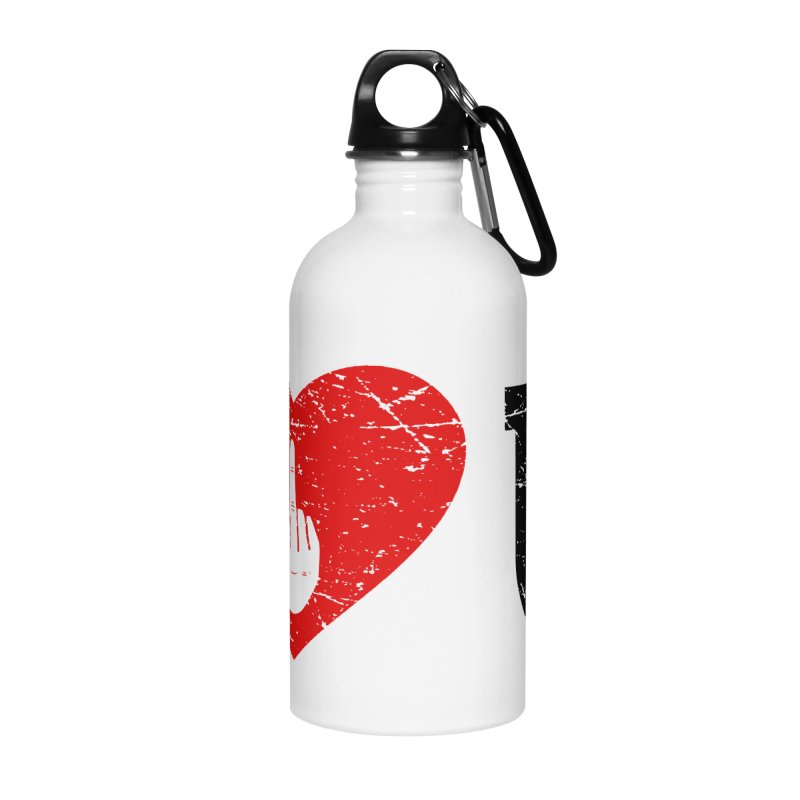 Love You Accessories Water Bottle by GED WORKS