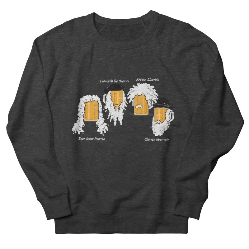 Beer Mates Happy Hour Men's French Terry Sweatshirt by GED WORKS