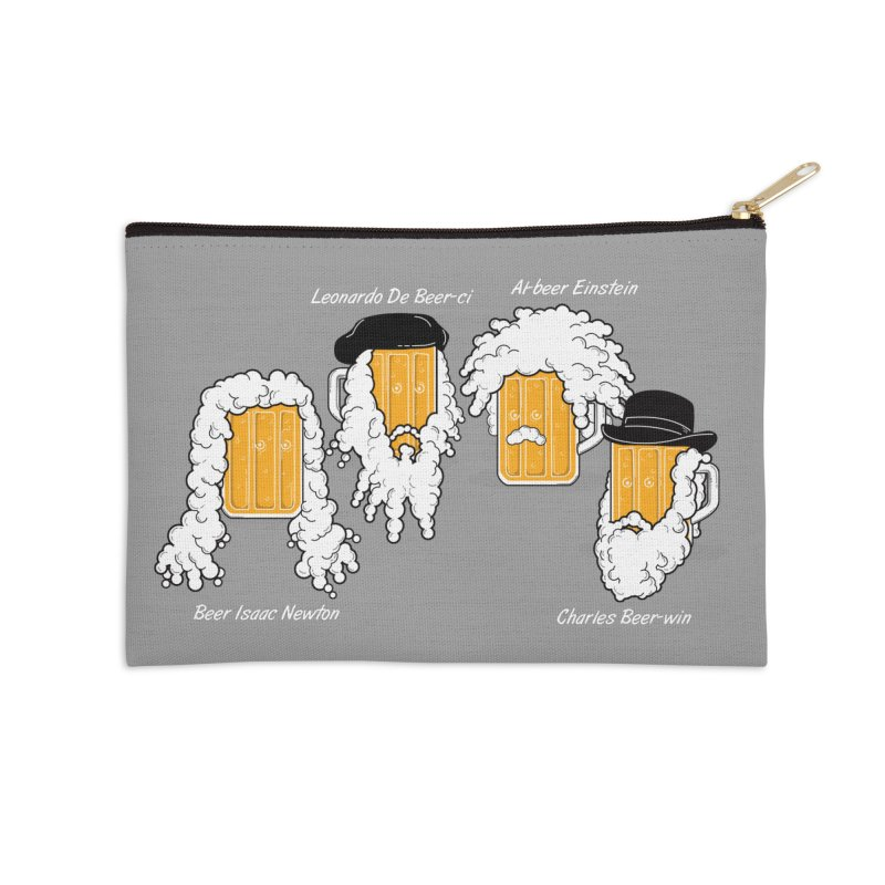 Beer Mates Happy Hour Accessories Zip Pouch by GED WORKS