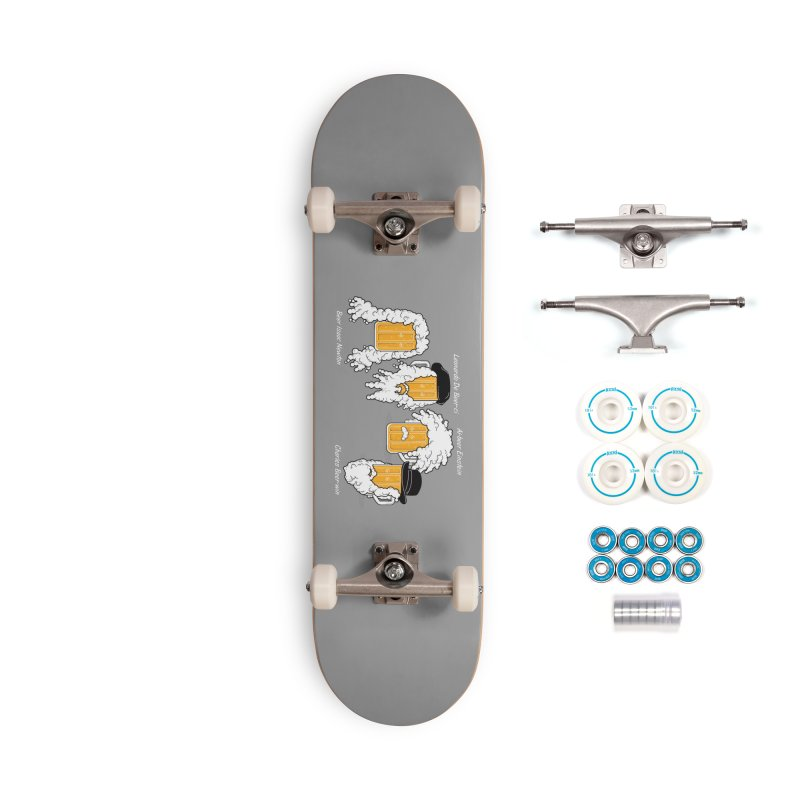Beer Mates Happy Hour Accessories Complete - Basic Skateboard by GED WORKS