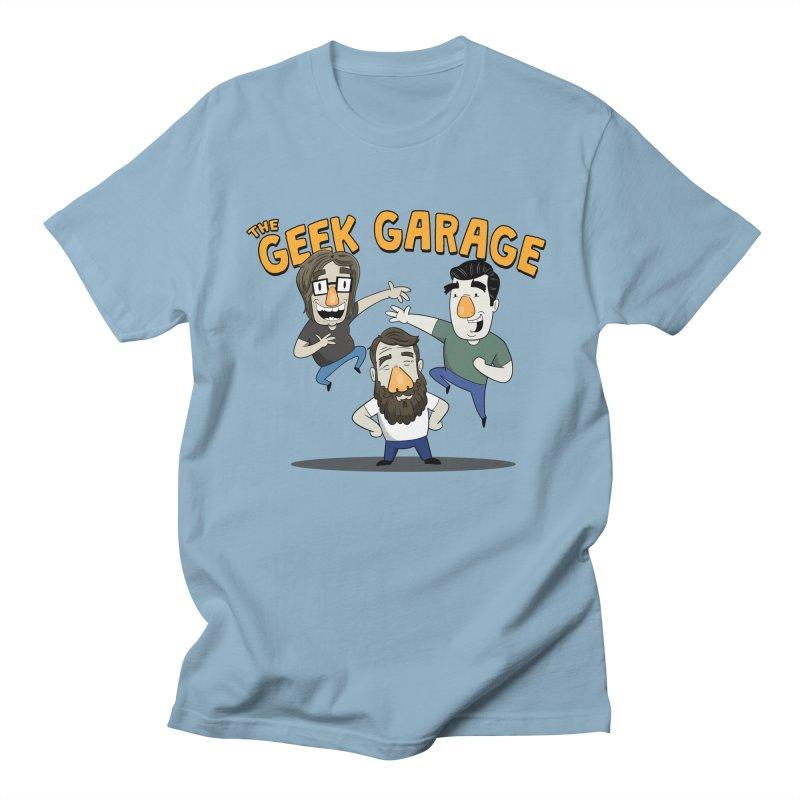 Original Podcast Logo Women's Regular Unisex T-Shirt by Geek Garage Podcast's Artist Shop