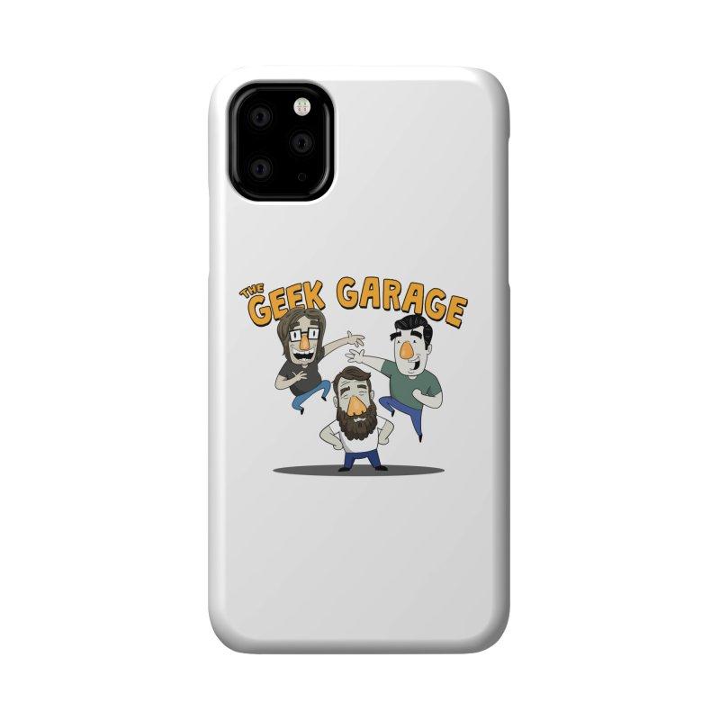 Original Podcast Logo Accessories Phone Case by Geek Garage Podcast's Artist Shop