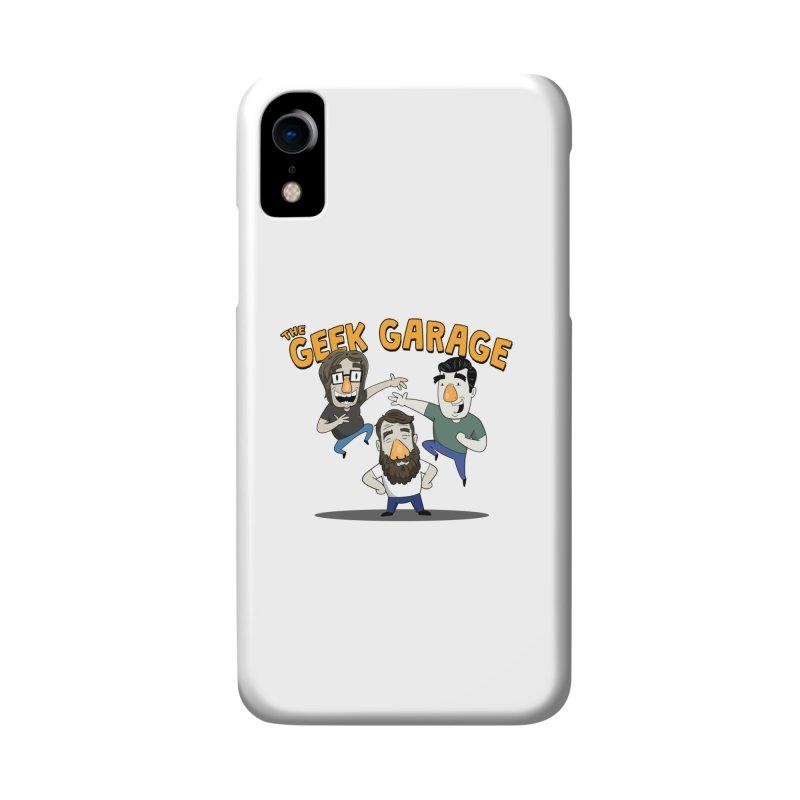 Original Podcast Logo Accessories Phone Case by geekgaragepodcast's Artist Shop