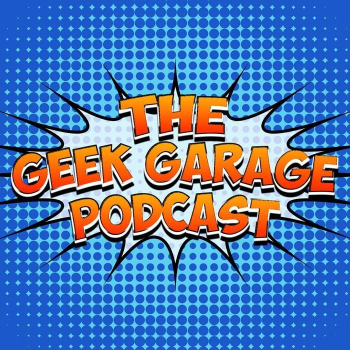 Geek Garage Podcast's Artist Shop Logo