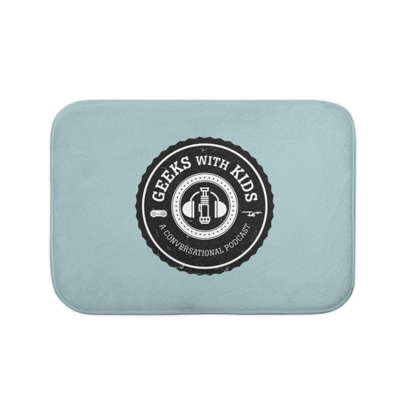 GWK the logo Home Bath Mat by Geeks with Kids the Shop
