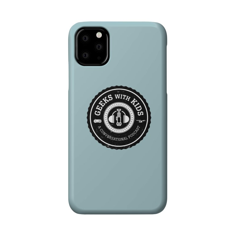 GWK the logo Accessories Phone Case by Geeks with Kids the Shop