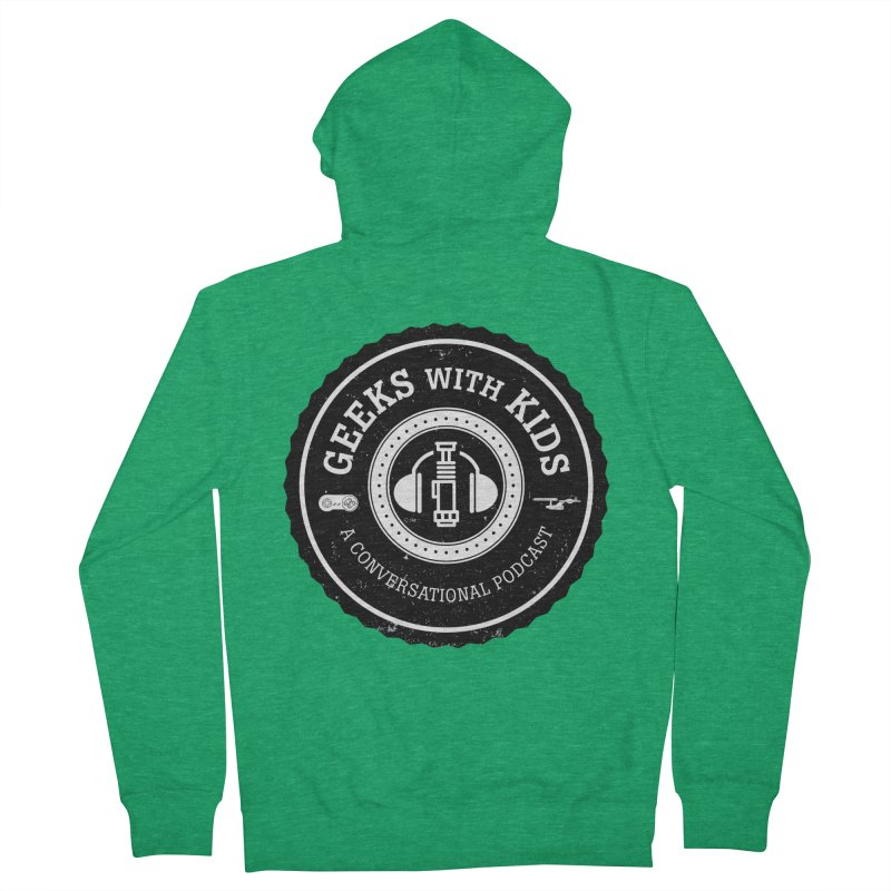 GWK the logo Men's Zip-Up Hoody by Geeks with Kids the Shop