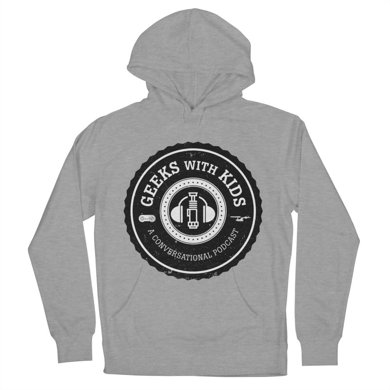 GWK the logo Men's French Terry Pullover Hoody by Geeks with Kids the Shop