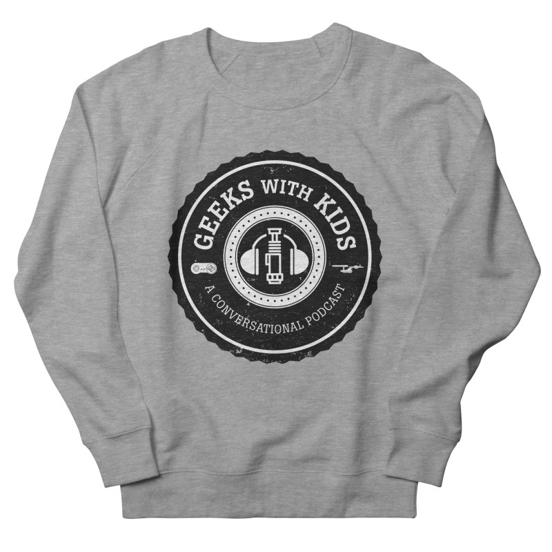GWK the logo Women's French Terry Sweatshirt by Geeks with Kids the Shop