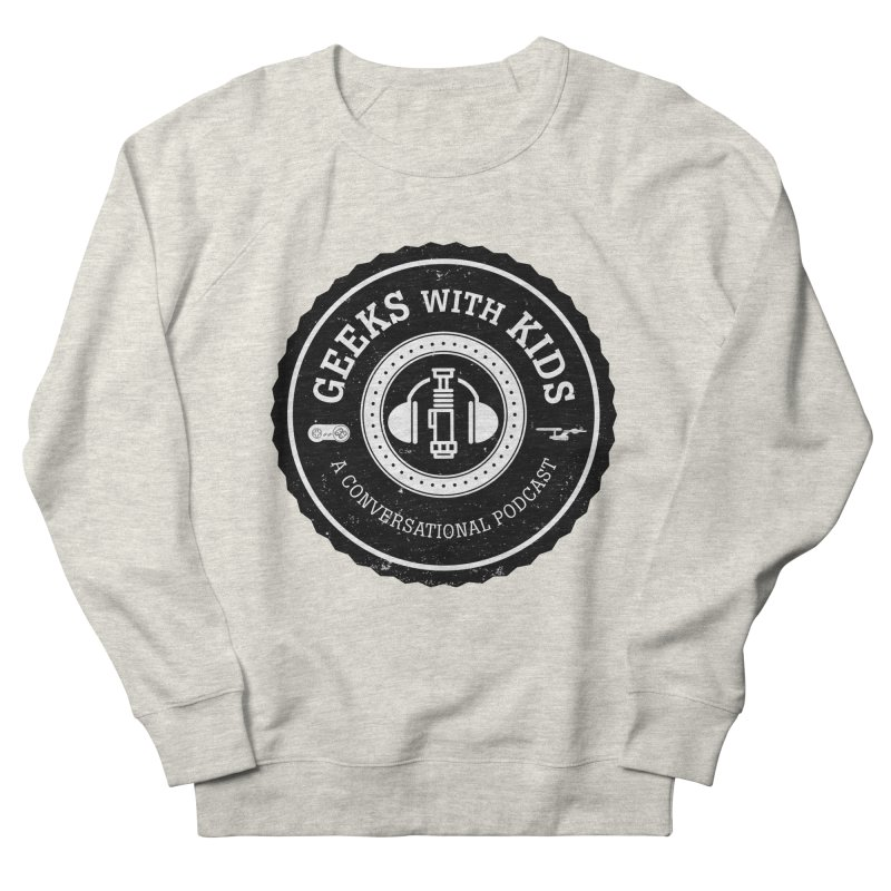 GWK the logo Men's French Terry Sweatshirt by Geeks with Kids the Shop