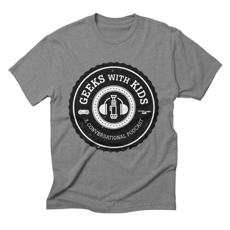 GWK the logo Men's Triblend T-Shirt by Geeks with Kids the Shop