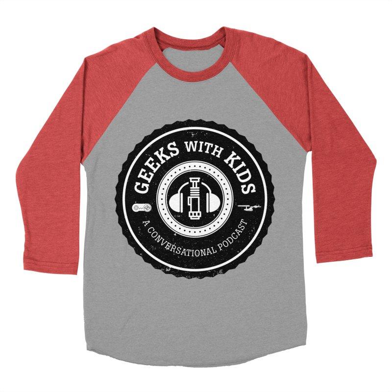 GWK the logo Men's Baseball Triblend Longsleeve T-Shirt by Geeks with Kids the Shop