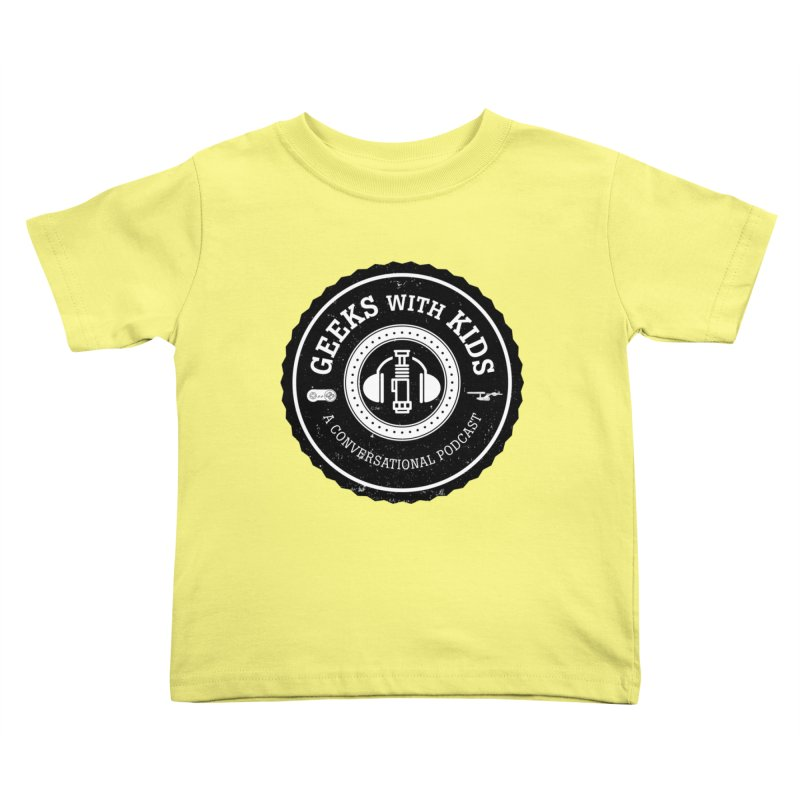 GWK the logo Kids Toddler T-Shirt by Geeks with Kids the Shop