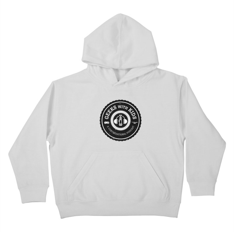 GWK the logo Kids Pullover Hoody by Geeks with Kids the Shop
