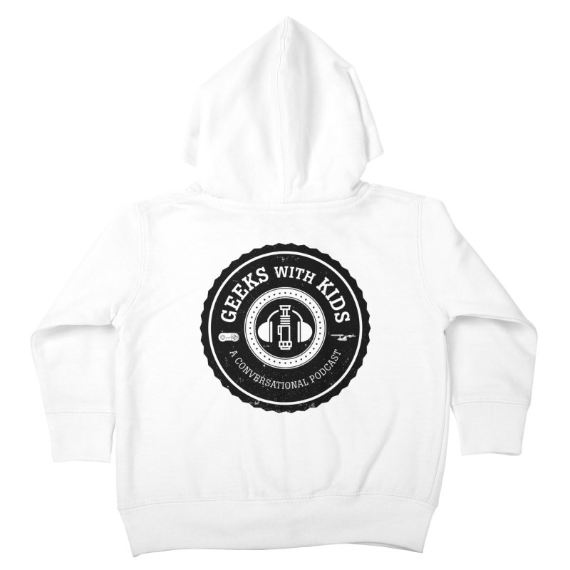 GWK the logo Kids Toddler Zip-Up Hoody by Geeks with Kids the Shop