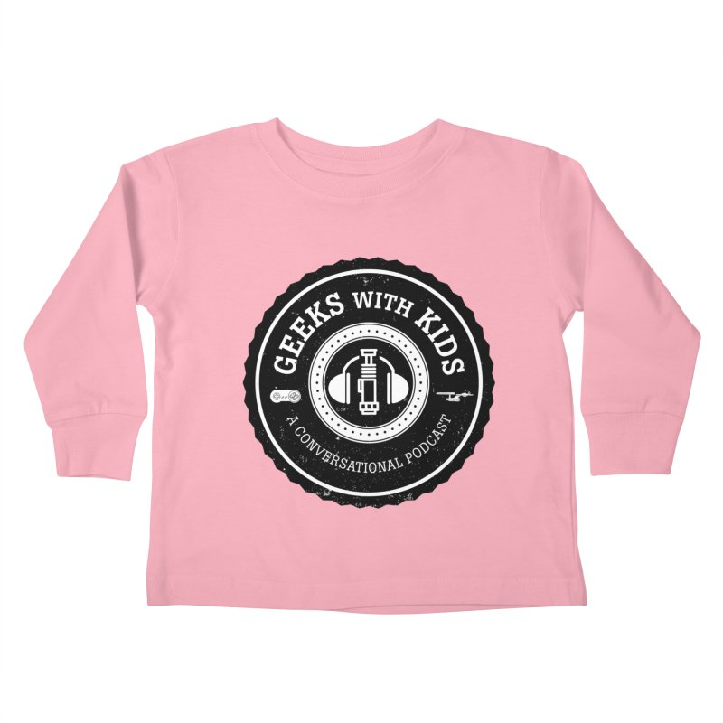 GWK the logo Kids Toddler Longsleeve T-Shirt by Geeks with Kids the Shop
