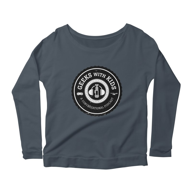 GWK the logo Women's Scoop Neck Longsleeve T-Shirt by Geeks with Kids the Shop