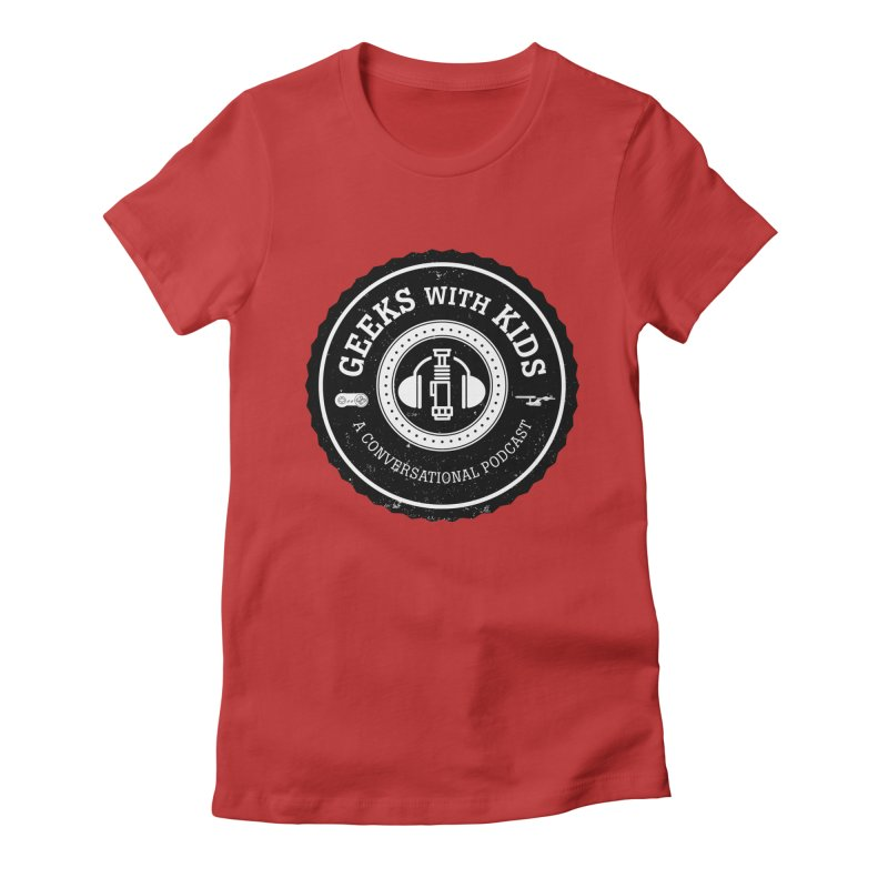 GWK the logo Women's Fitted T-Shirt by Geeks with Kids the Shop