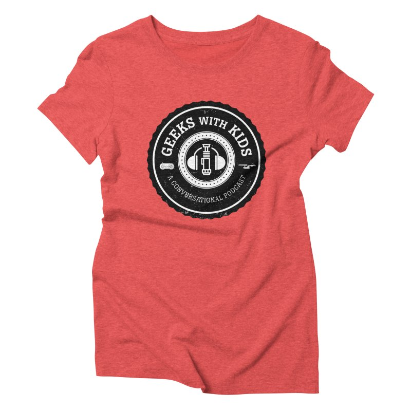 GWK the logo Women's Triblend T-Shirt by Geeks with Kids the Shop