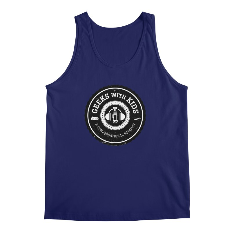 GWK the logo Men's Regular Tank by Geeks with Kids the Shop