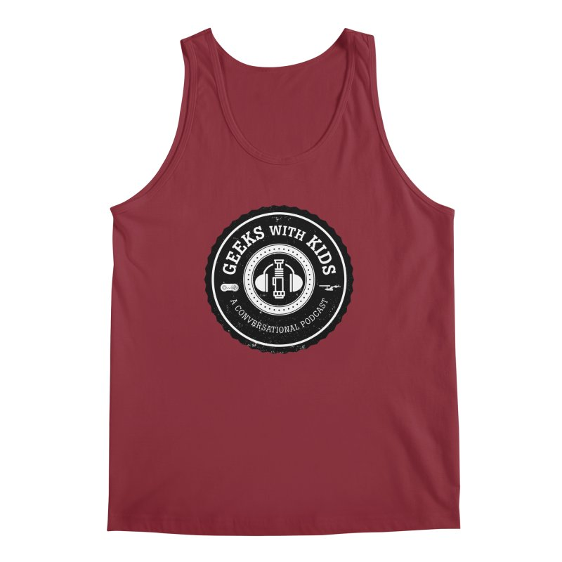 GWK the logo Men's Tank by Geeks with Kids the Shop