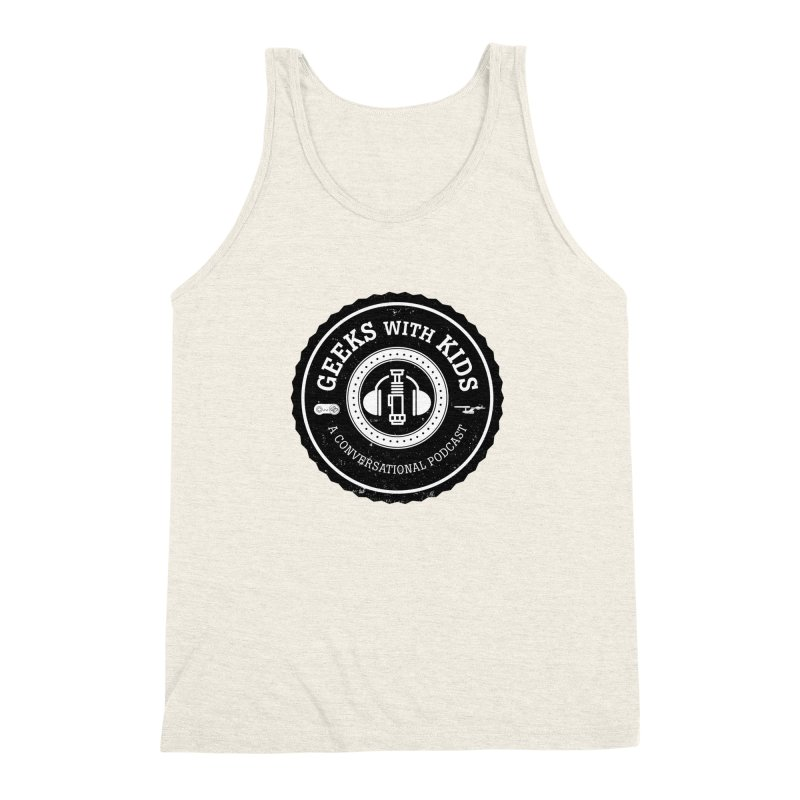 GWK the logo Men's Triblend Tank by Geeks with Kids the Shop
