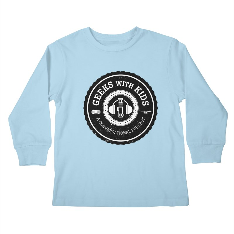GWK the logo Kids Longsleeve T-Shirt by Geeks with Kids the Shop