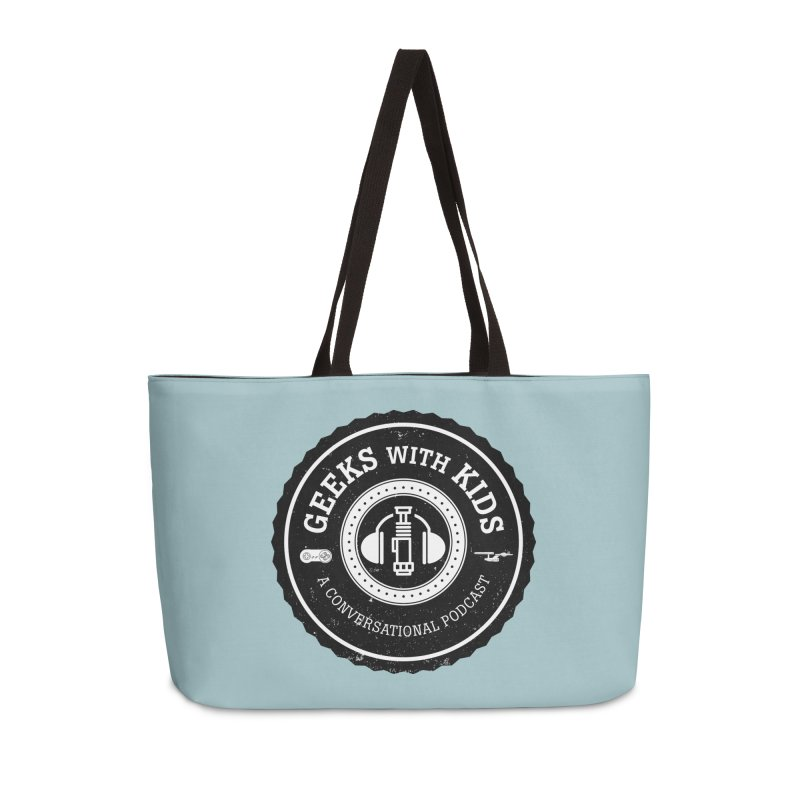 GWK the logo Accessories Weekender Bag Bag by Geeks with Kids the Shop