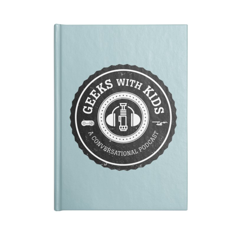 GWK the logo Accessories Blank Journal Notebook by Geeks with Kids the Shop