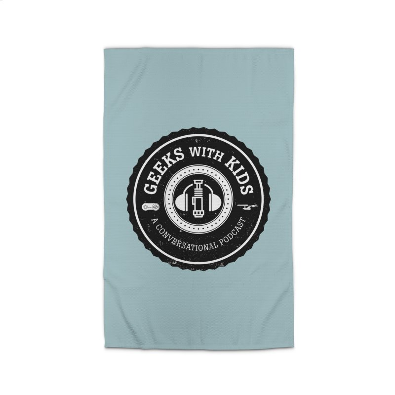 GWK the logo Home Rug by Geeks with Kids the Shop