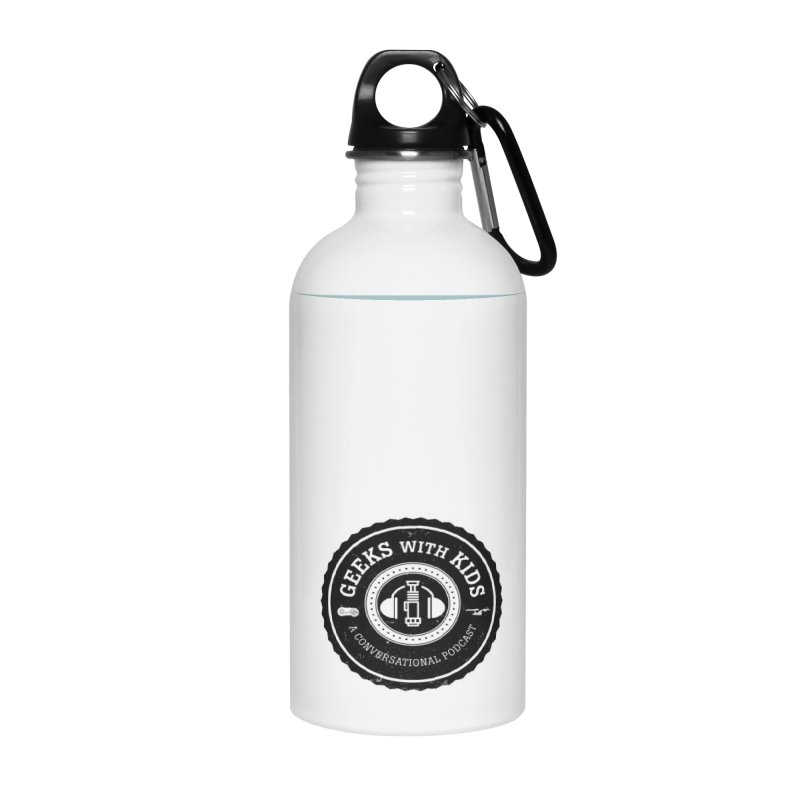 GWK the logo Accessories Water Bottle by Geeks with Kids the Shop