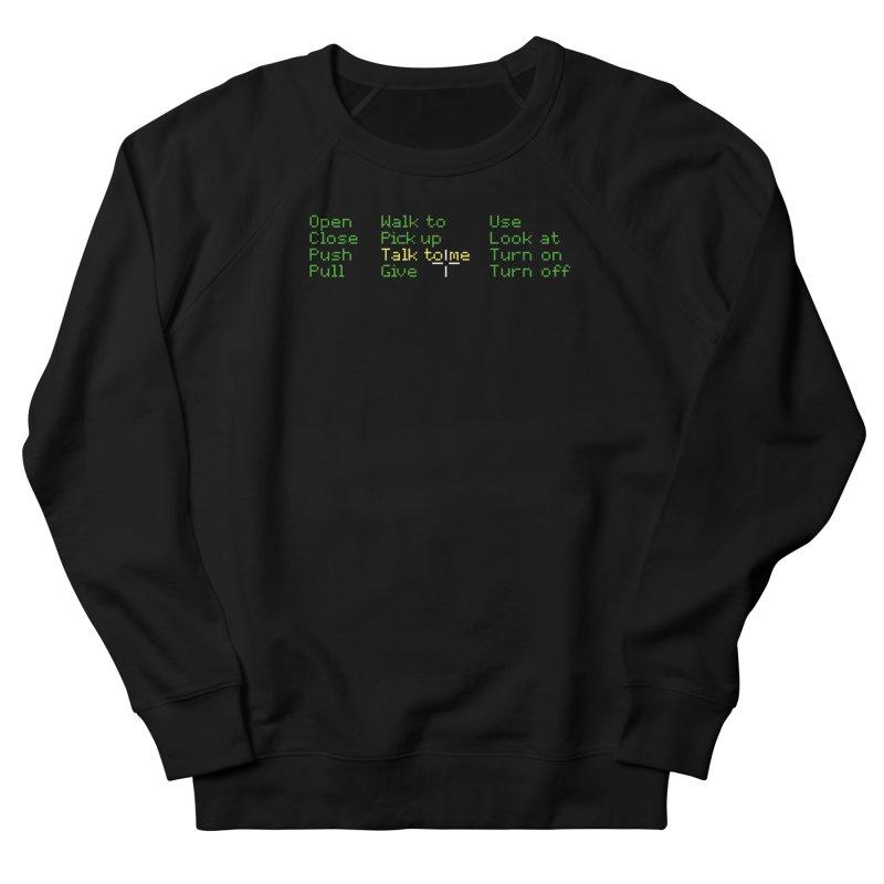 Talk to me Men's Sweatshirt by Geekwerk