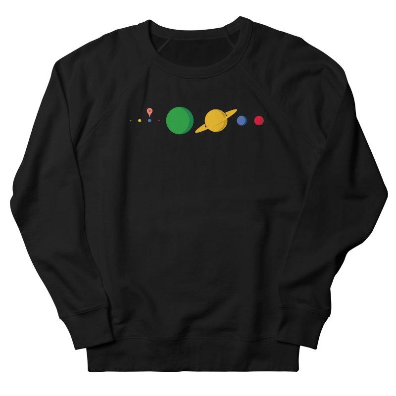 Solar System Route Planner Men's Sweatshirt by Geekwerk