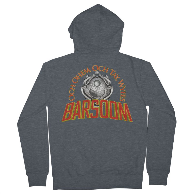Och Ohem, Och Tay, Wyees Barsoom Women's Zip-Up Hoody by Geeky Nerfherder's Artist Shop