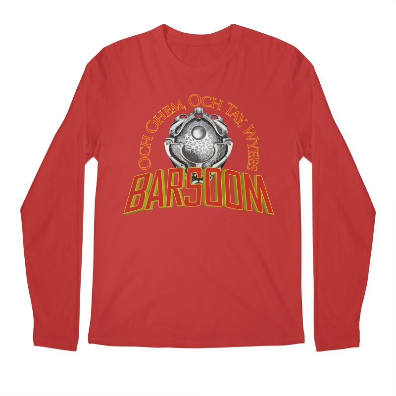 Och Ohem, Och Tay, Wyees Barsoom Men's Regular Longsleeve T-Shirt by Geeky Nerfherder's Artist Shop