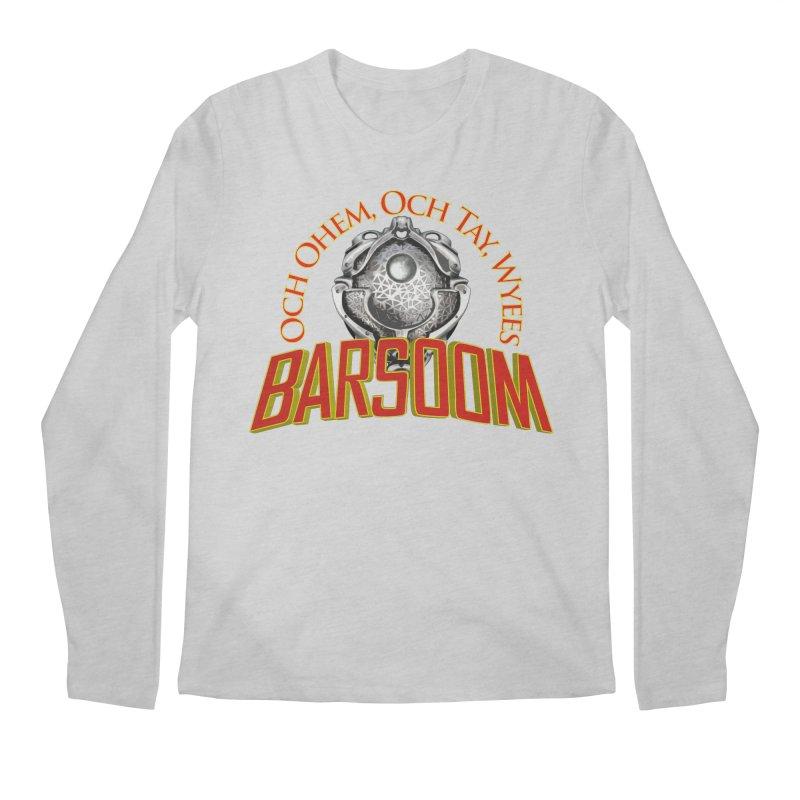 Och Ohem, Och Tay, Wyees Barsoom Men's Regular Longsleeve T-Shirt by Geeky Nerfherder's Artist Shop