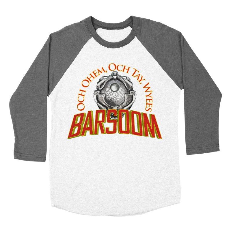 Och Ohem, Och Tay, Wyees Barsoom Women's Baseball Triblend T-Shirt by Geeky Nerfherder's Artist Shop