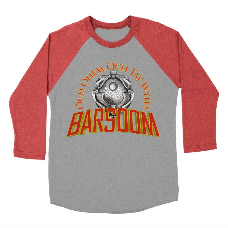 Och Ohem, Och Tay, Wyees Barsoom Men's Baseball Triblend T-Shirt by Geeky Nerfherder's Artist Shop