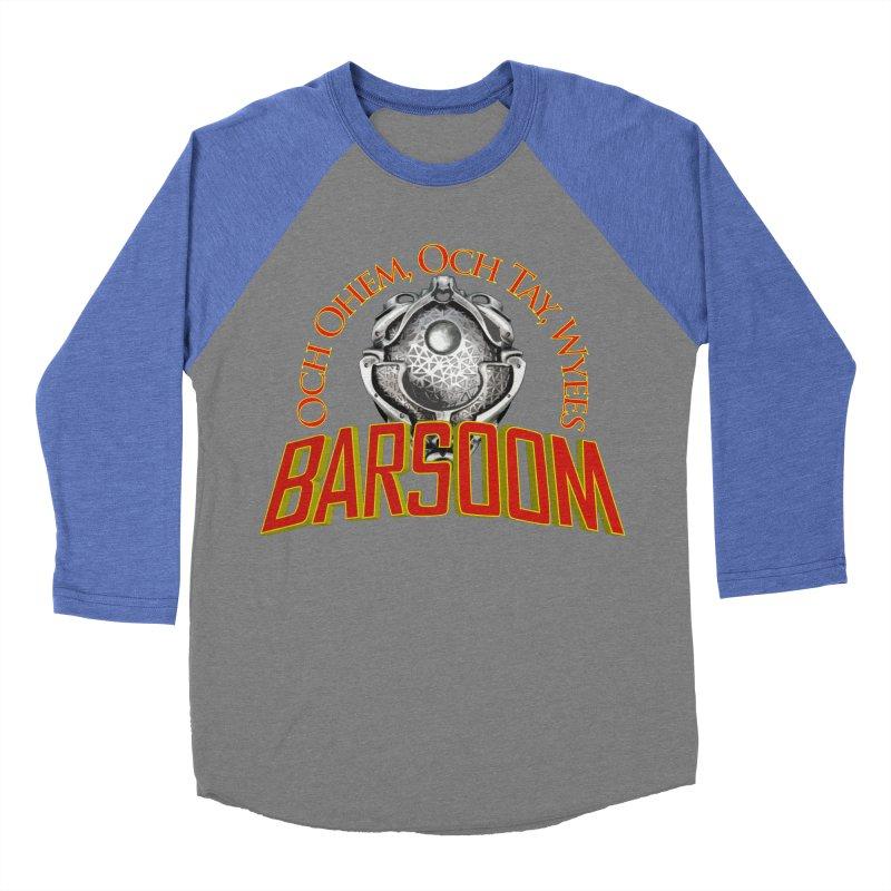 Och Ohem, Och Tay, Wyees Barsoom Men's Baseball Triblend T-Shirt by Geeky Nerfherder's Artist Shop