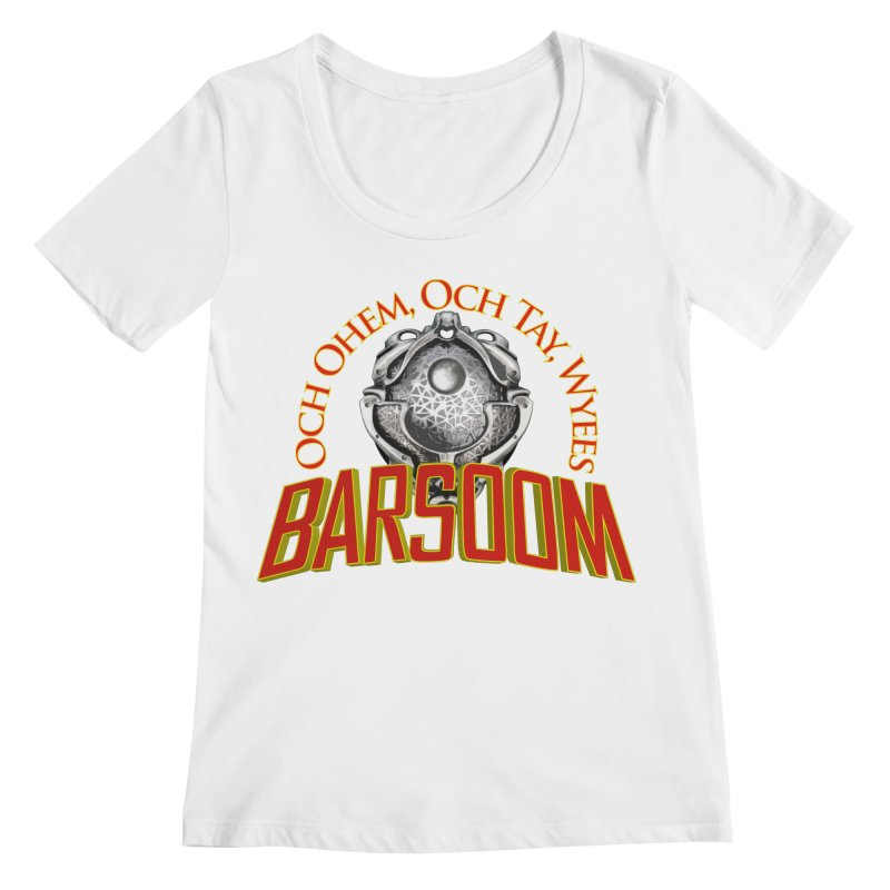Och Ohem, Och Tay, Wyees Barsoom Women's Regular Scoop Neck by Geeky Nerfherder's Artist Shop