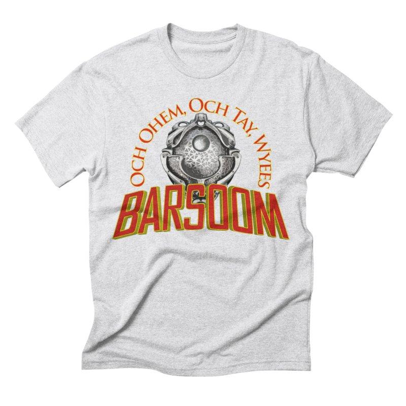 Och Ohem, Och Tay, Wyees Barsoom Men's Triblend T-shirt by Geeky Nerfherder's Artist Shop