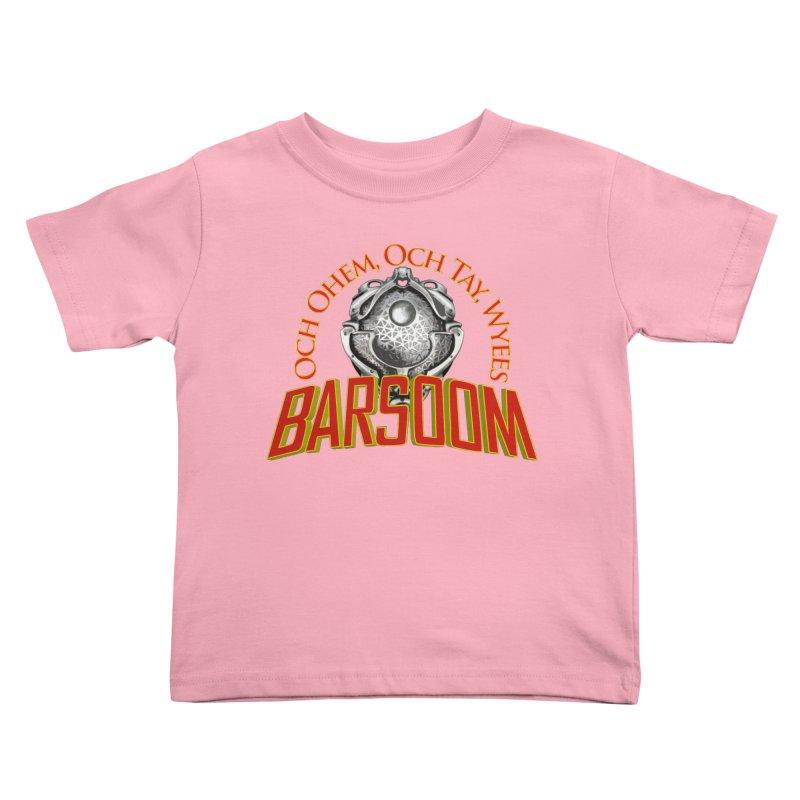 Och Ohem, Och Tay, Wyees Barsoom Kids Toddler T-Shirt by Geeky Nerfherder's Artist Shop