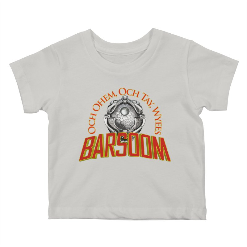 Och Ohem, Och Tay, Wyees Barsoom Kids Baby T-Shirt by Geeky Nerfherder's Artist Shop