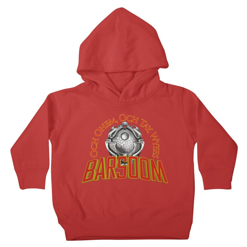 Och Ohem, Och Tay, Wyees Barsoom Kids Toddler Pullover Hoody by Geeky Nerfherder's Artist Shop