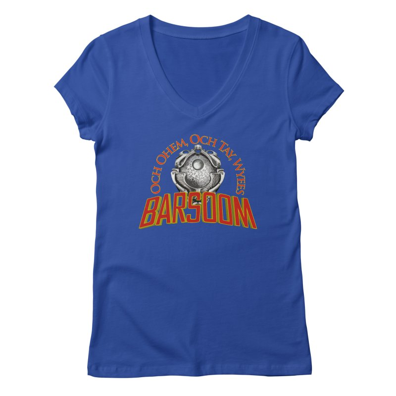 Och Ohem, Och Tay, Wyees Barsoom Women's V-Neck by Geeky Nerfherder's Artist Shop