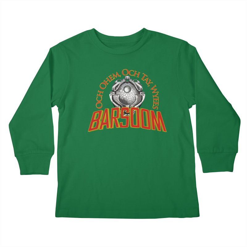 Och Ohem, Och Tay, Wyees Barsoom Kids Longsleeve T-Shirt by Geeky Nerfherder's Artist Shop