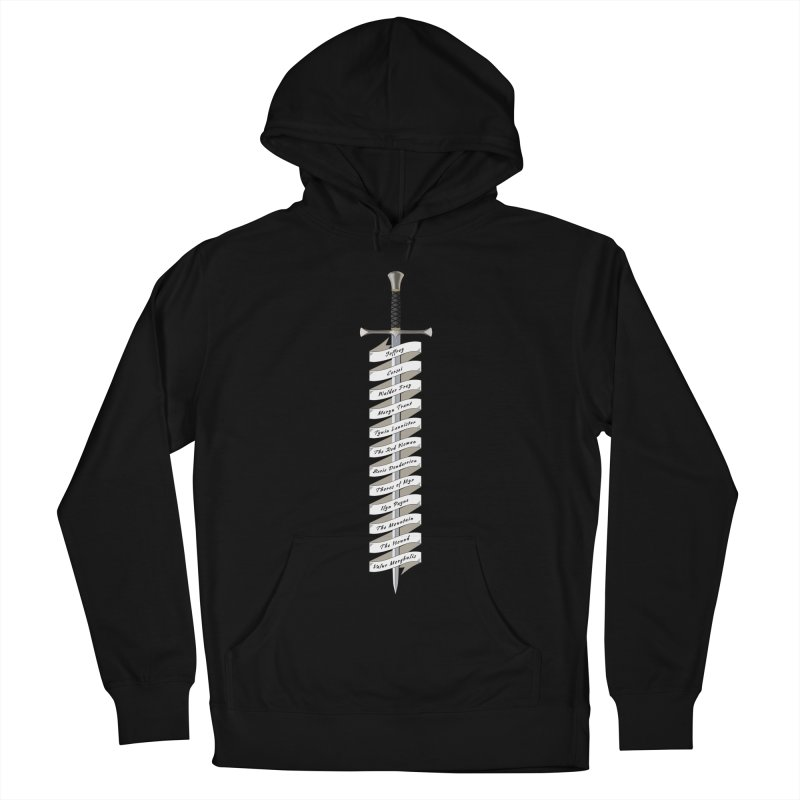 Kill List Women's French Terry Pullover Hoody by Geeky Nerfherder's Artist Shop
