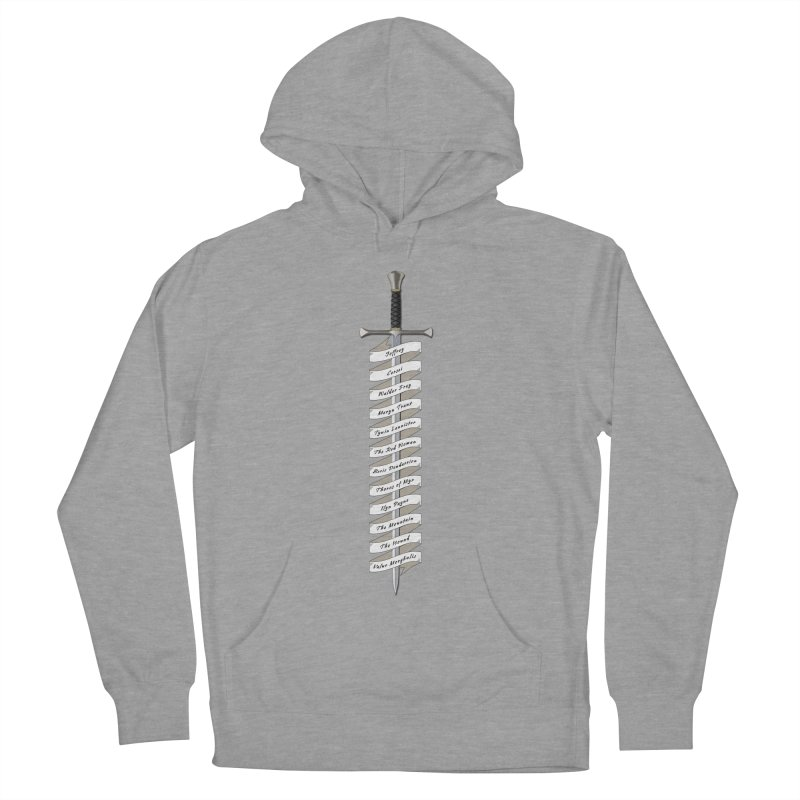 Kill List Men's French Terry Pullover Hoody by Geeky Nerfherder's Artist Shop